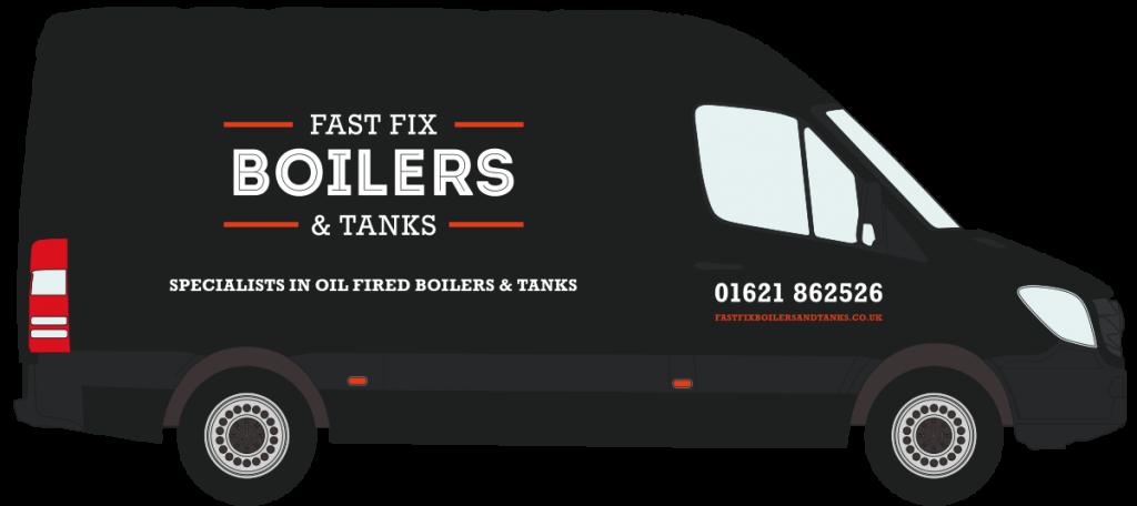 Fast Fix Boilers & Tanks – Large Van